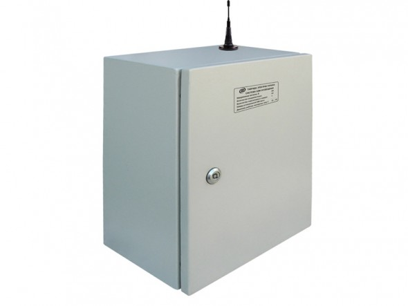 Внешний вид шкафа системы GSM оповещения