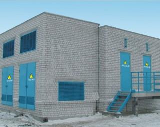 Рис. 9. Здание РП/ТП, построенное по типовому проекту У.407-3-0653.2000