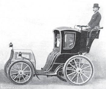 Рис. 1. Автомобиль И.В. Романова. 1899 г.
