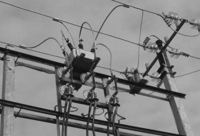 Рис.8. Организация перехода ВЛ - кабельная линия в ОРУ 10 кВ с применением РВА/TEL
