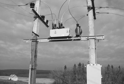 Рис.4. РВА/TEL в качестве защитного аппарата ВЛ